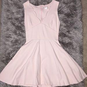 Peplum style dress from Nordstrom